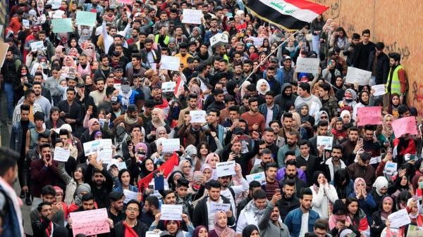 مليونية طارئة في بغداد ومدن الجنوب.. طلاب العراق في الساحات