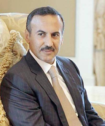 أحمد علي عبدالله صالح يُعزِّي في وفاة الرئيس المصري الأسبق محمد حسني مبارك