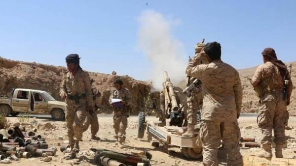 القوات الحكومية تشن هجوم واسع على مواقع مليشيا الحوثي في الجوف