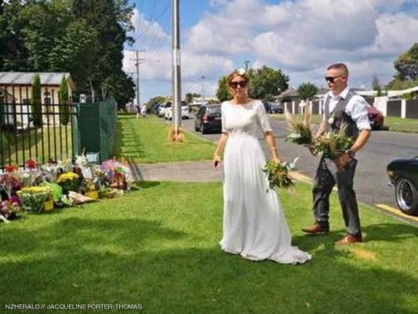 بالصور.. تزوجا بيوم &#34نيوزيلندا الأسود&#34 وقاما بفعلة استثنائية