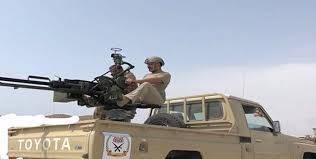 """"""" المشتركة"""" تخمد مصادر نيران حوثية أستهدفت مناطق سكنية بالدريهمي جنوب الحديدة"""