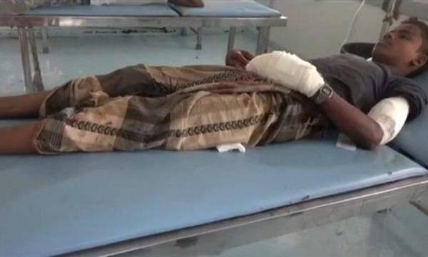 إصابة طفل بقصف حوثي متجدد لأحياء التحيتا السكنية جنوب الحديدة