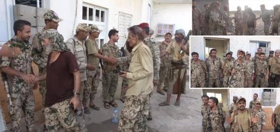 أجواء العيد لدى القوات المشتركة في خطوط التماس داخل مدينة الحديدة - فيديو