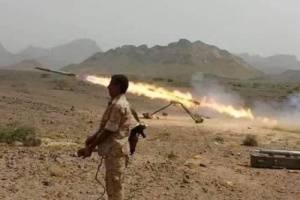 الضالع.. قصف صاروخي لمواقع مليشيات الحوثي وقتلى على جبهة الأزارق - ماوية