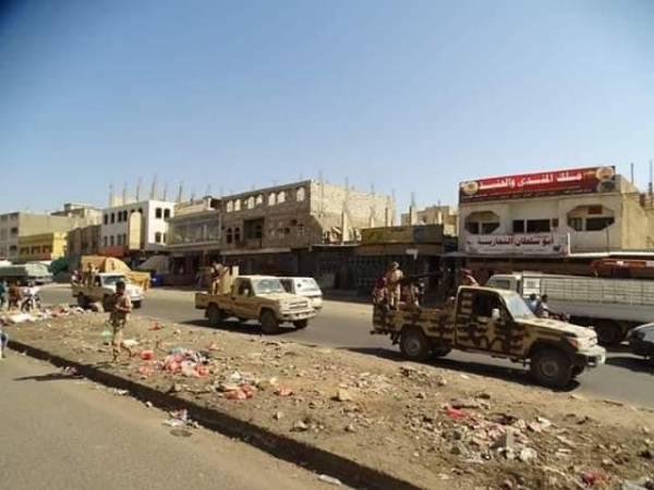 شاهد الفيديو ..  الجيش ينفذ عملية التفاف واسعة ويقتحم مدينة دمت
