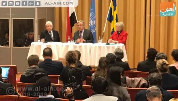 شاهد.. أول تعليق لدولة الامارات العربية المتحدة على نتائج مشاورات السويد..! - (تعرف عليه)