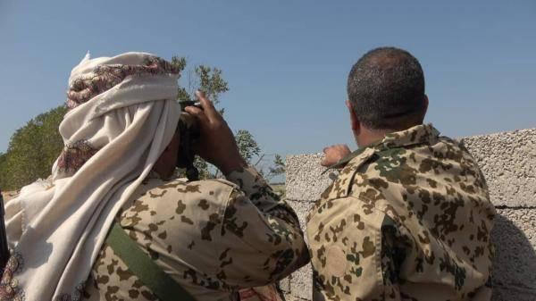 مصرع قيادي حوثي على إثر تسلل فاشل للمليشيا في الحديدة
