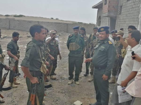 العميد نجيب ورق يفتتح قسم شرطة مديرية الحوك في مدينة الحديدة - (صور)
