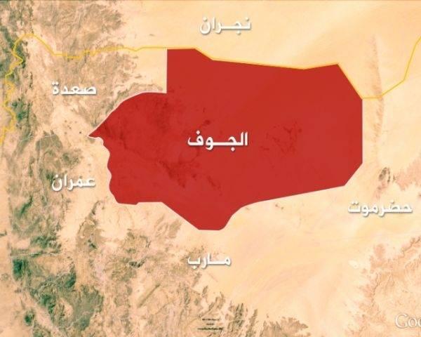إسقاط طائرة حوثية مسيرة في المتون بالتزامن مع معارك مشتعلة في العقبة