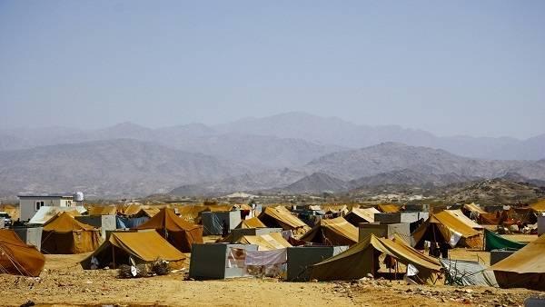 تدشين مخيم جديد لنازحي الحديدة بمحافظة لحج