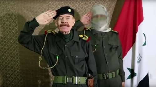 ماذا قال الرجل الثاني في نظام صدام في تصريحه الناري عن الحرب في اليمن؟