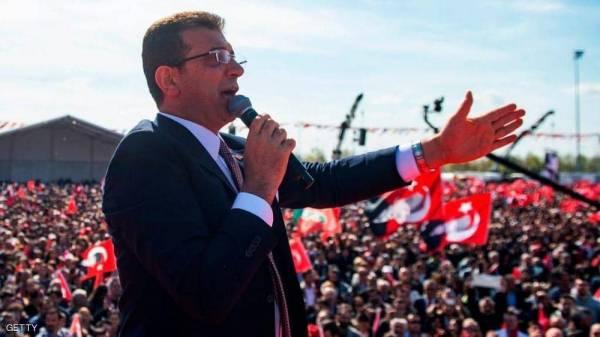 """مرشح المعارضة يعلن فوزه في إسطنبول و""""بداية جديدة"""" لتركيا"""