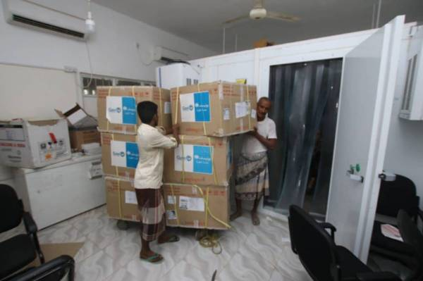 منظمة اليونيسف تعلن عن وصول 500 ألف جرعة لقاح ضد الكوليرا إلى عدن