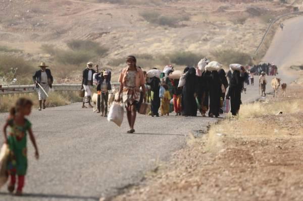 الهجرة الدولية تكشف عن اعداد اليمنيين النازحين خلال العام 2019م