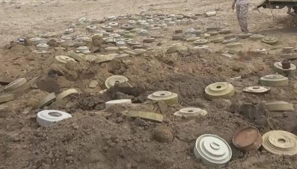 مليشيات الحوثي تواصل زراعة الألغام في مناطق سيطرتها