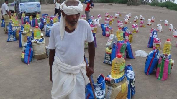 """المقاومة الوطنية تدشن """"سواعد العطاء"""" لتوزيع 2000 سلة غذائية على أهالي الساحل الغربي - (صور)"""