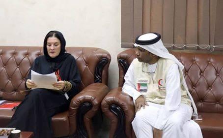 ممثل هلال الإمارات يلتقي مفوضية اللاجئين لدعم نازحي الساحل الغربي