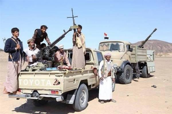 إصابة عدد من الصحفيين بصاروخ أطلقته مليشيا الحوثي على اجتماع لهم في حزم الجوف