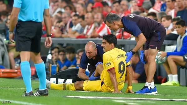 سواريز.. كارثة جديدة تضرب برشلونة مع انطلاقة الموسم