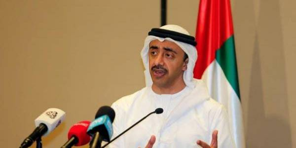 """وزير خارجية الإمارات يتحدث عن """"اعتداء على الإمارات"""""""