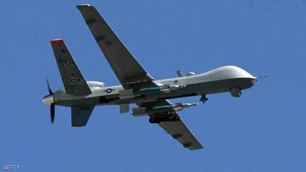 إيران تسقط  طائرة أمريكية مسيّرة  فوق مضيق هرمز