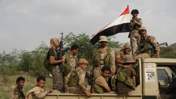 القوات الحكومية تسيطر على مناطق جديدة في جبهة قانية بمحافظة البيضاء