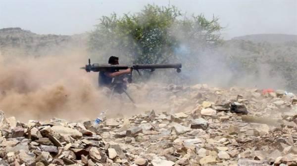 سقوط مواقع جديدة وعشرات القتلى الحوثيين . المشتركة والمقاومة الجنوبية والشعبية تسحق المليشيا وتتوغل في مديرية الحشاء شمال الضالع