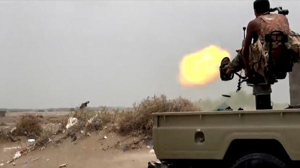 خسائر حوثية ثقيلة في اشتباكات بمختلف الأسلحة بجبهة الساحل الغربي